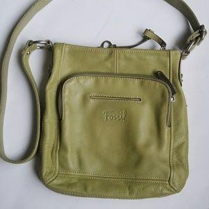 Super green Fossil bag!